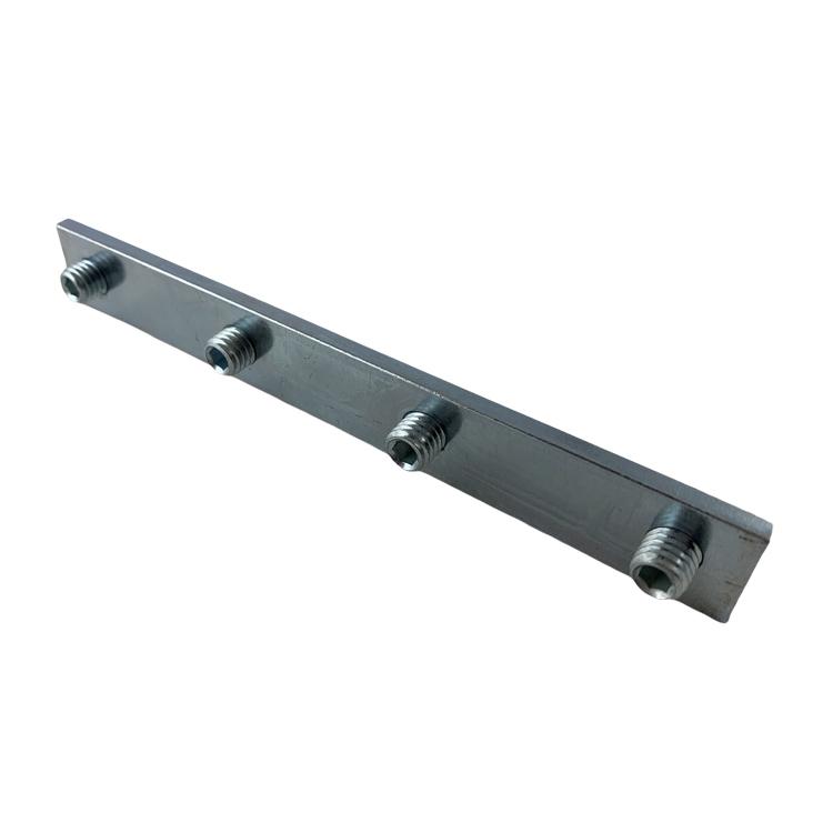 alu staafverbinder met schroef frame